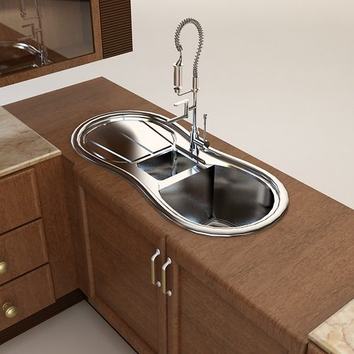 Kitchen Cabinets Ideas complete kitchen cabinets : Complete Kitchen Cabinets Appliances 3D Model MAX | CGTrader.com