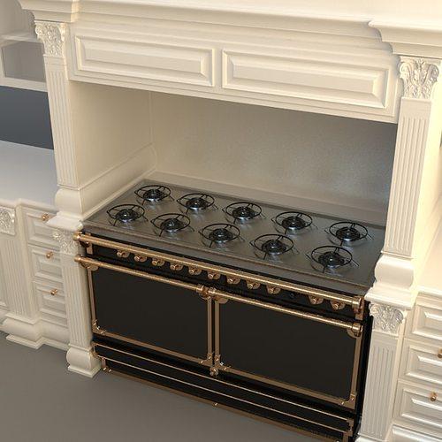 Kitchen Cabinets Appliances 3d Model Max 3ds 5