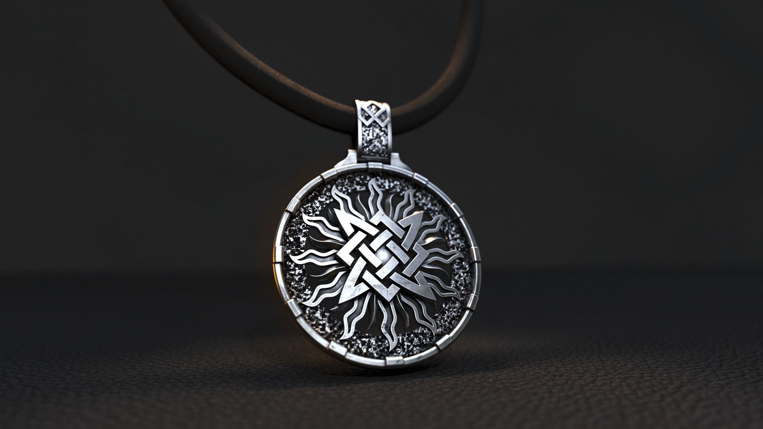 star of russia pendant 3D model