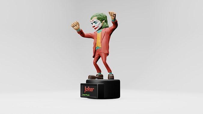Joker - joaquin phoenix  3d printing
