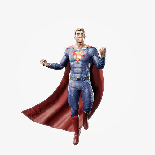 Superman Game Ready