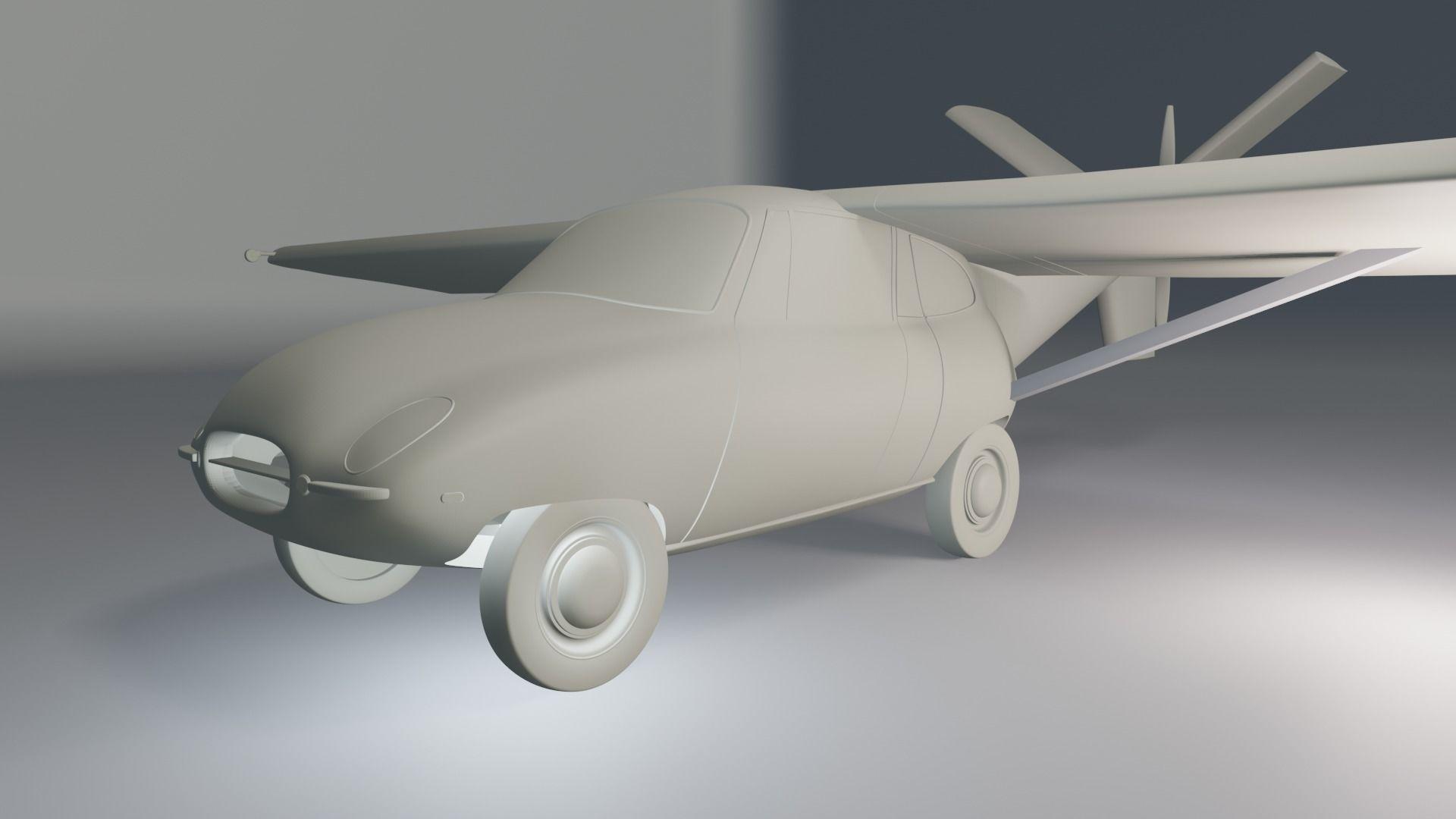 Aerocar III 3D Printable Model