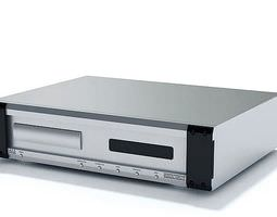dvd video player 3d model max