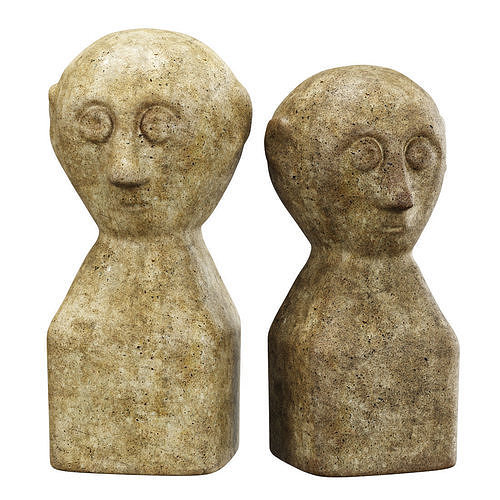 Decorative antique sculptures