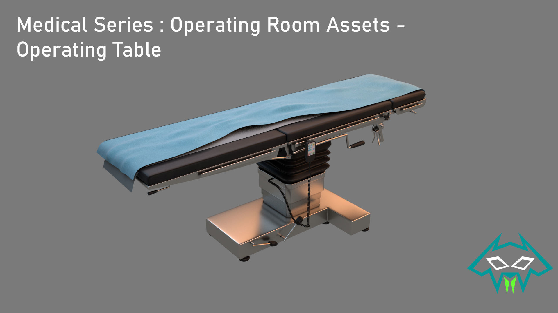 Medical Series - Operating Room - Operating Table