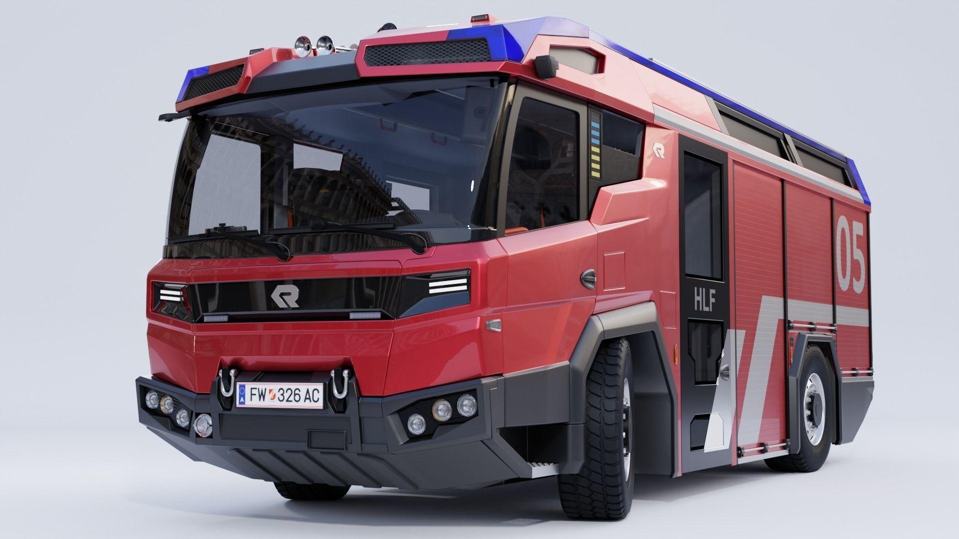 Rosenbauer RT Fire Truck