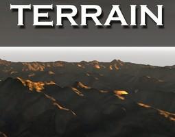 terrain 3d model realtime