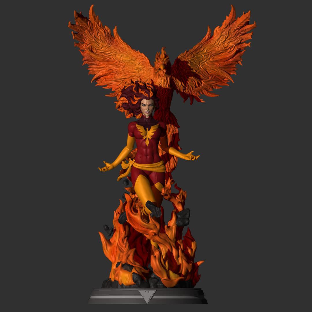 Fan Art - Dark Phoenix - Jean Grey