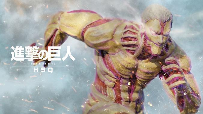 Attack on Titan - High Poly - Armored Titan Reiner Braun