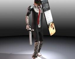 3D model The Trader Man