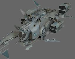 3D asset Pirate Ship MS