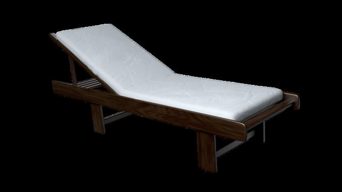 Beach Chair 3d Cgtrader