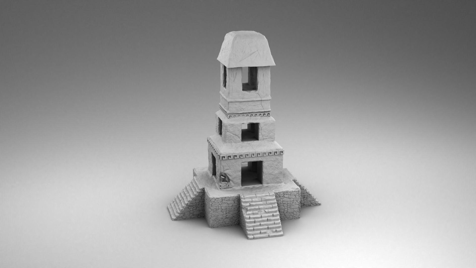 Stone tower of Maya