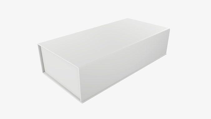 Magnetic cardboard gift box 01