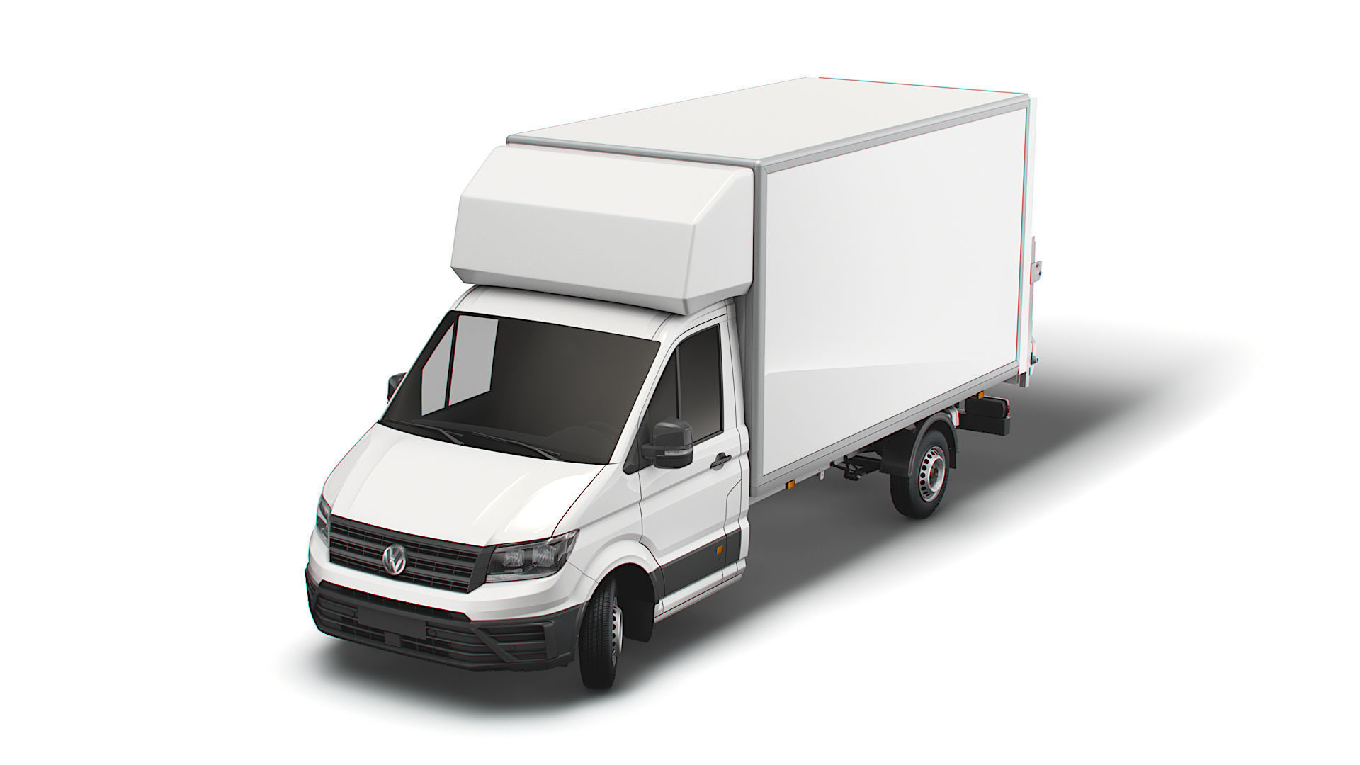 VW Crafter Luton Tail Lift 2021