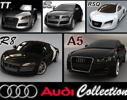 Audi collection 1 3D Model