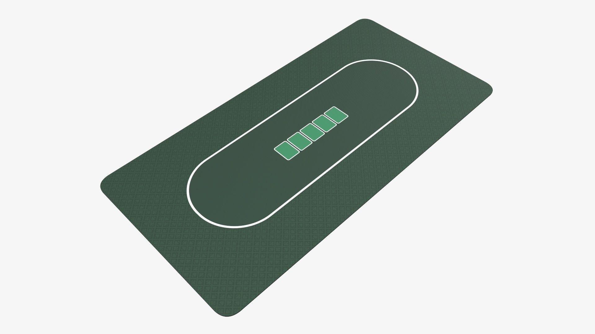 Playing cards table mat