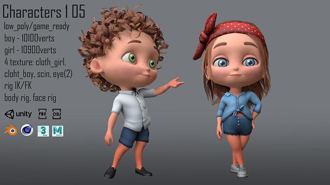 Characters  kids 1 05
