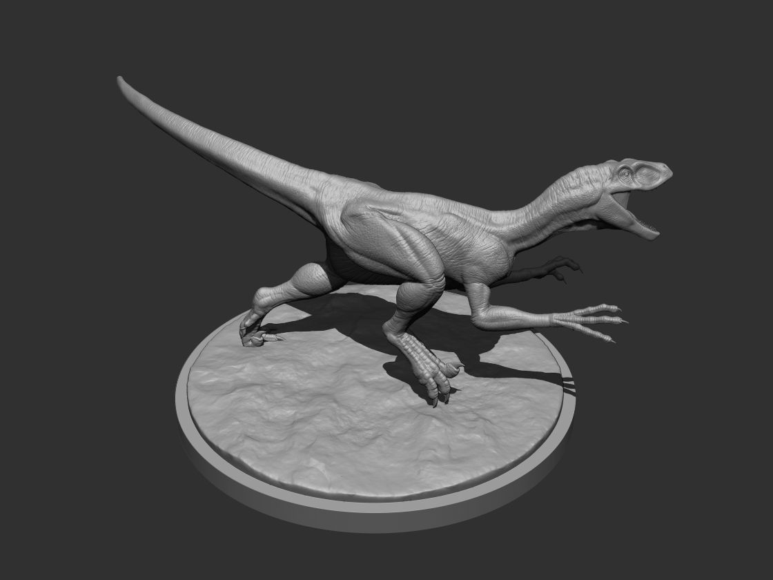 3D Raptor for Printing 01