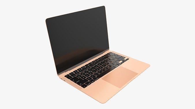 Open laptop mockup 02