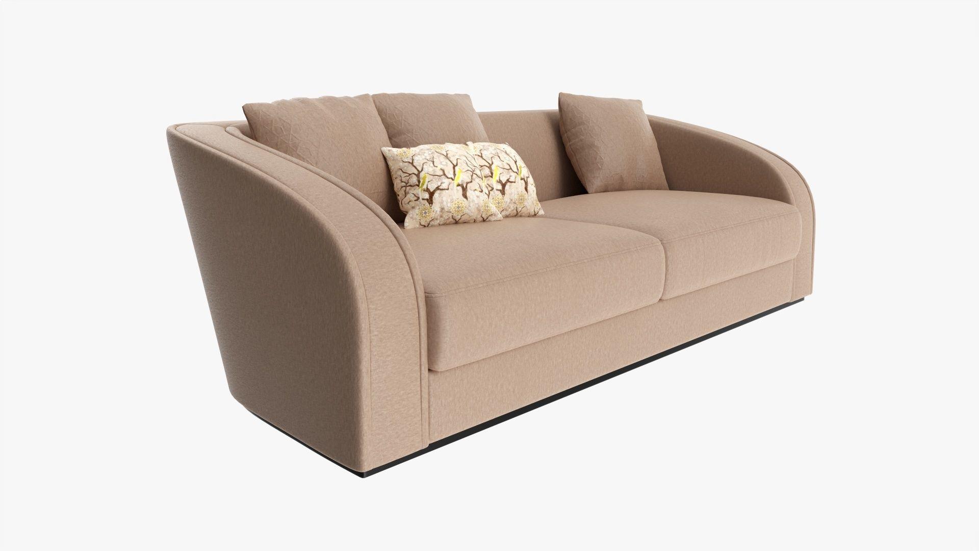 Loveseat sofa 02