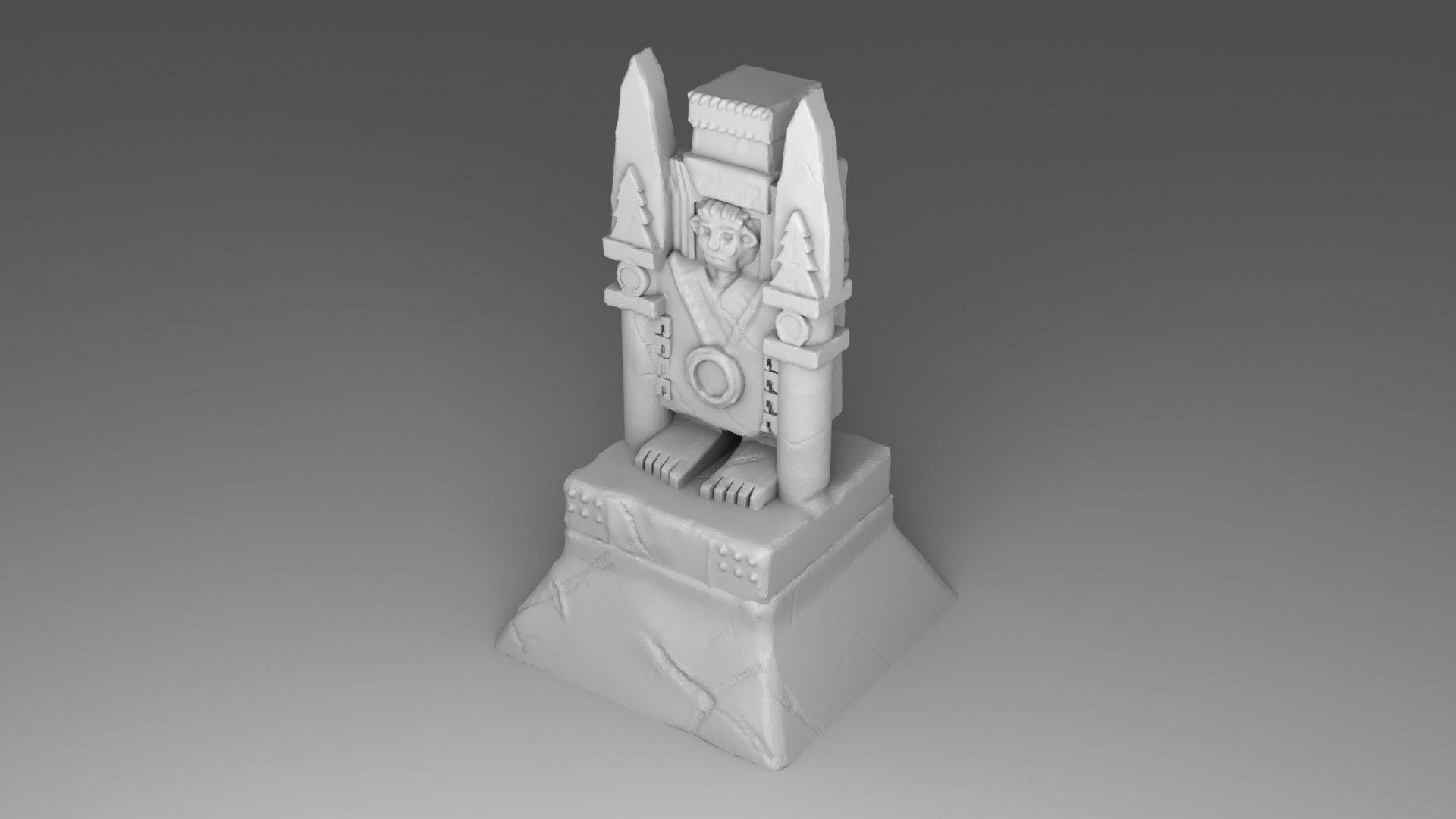 The idol of Maya