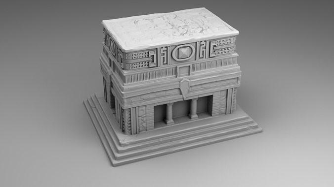 Large temple of Maya