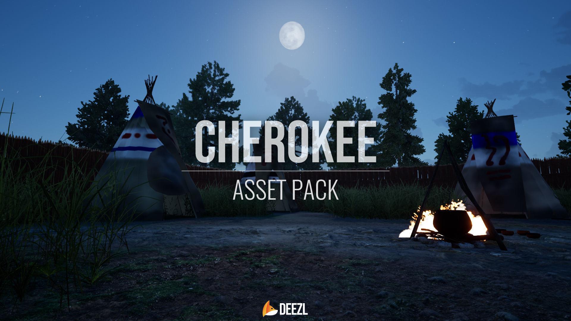 Cherokee - Asset Pack - Unreal Engine UE4