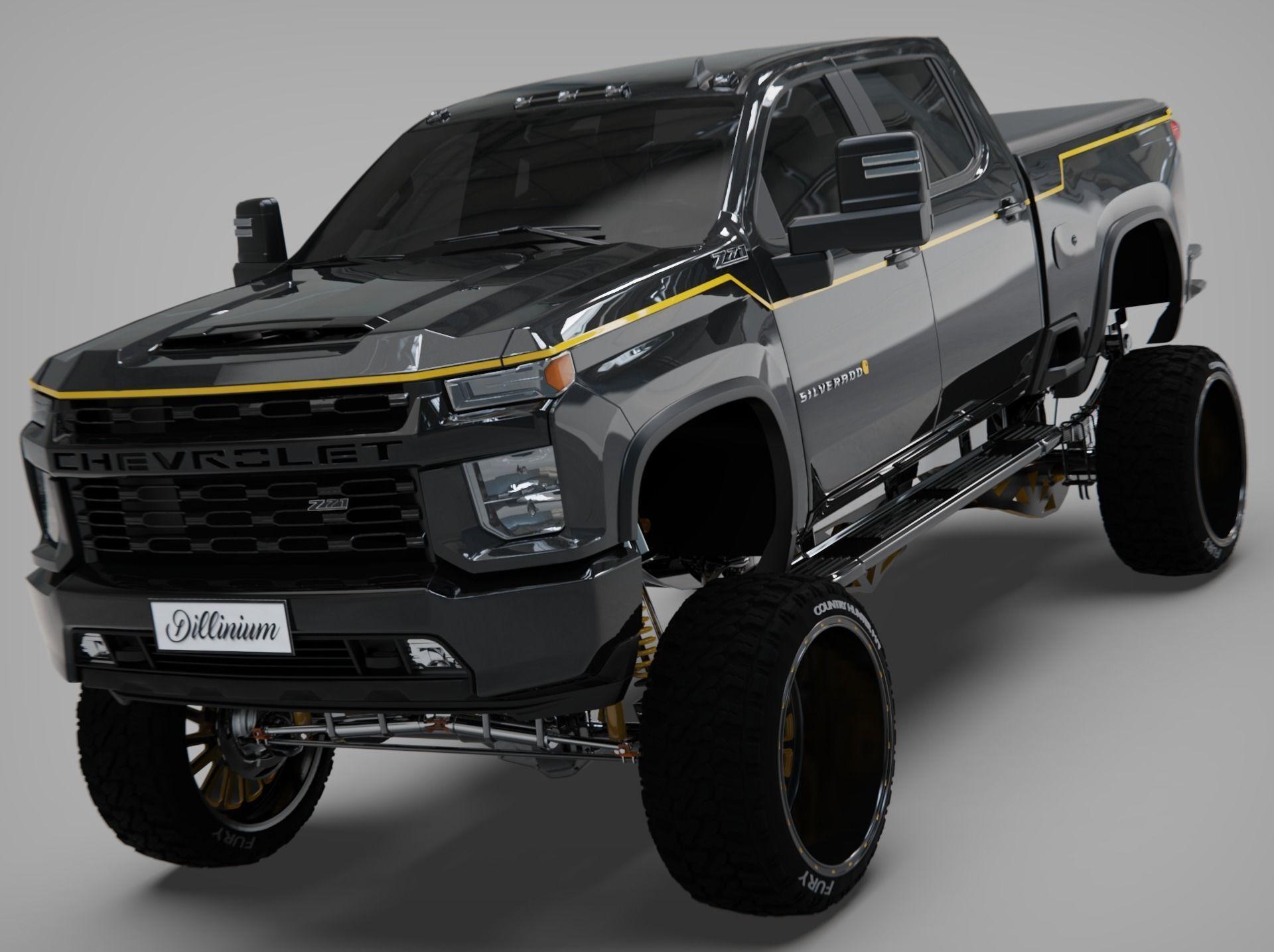 Silverado 2021 Carhartt edition Cencal truck