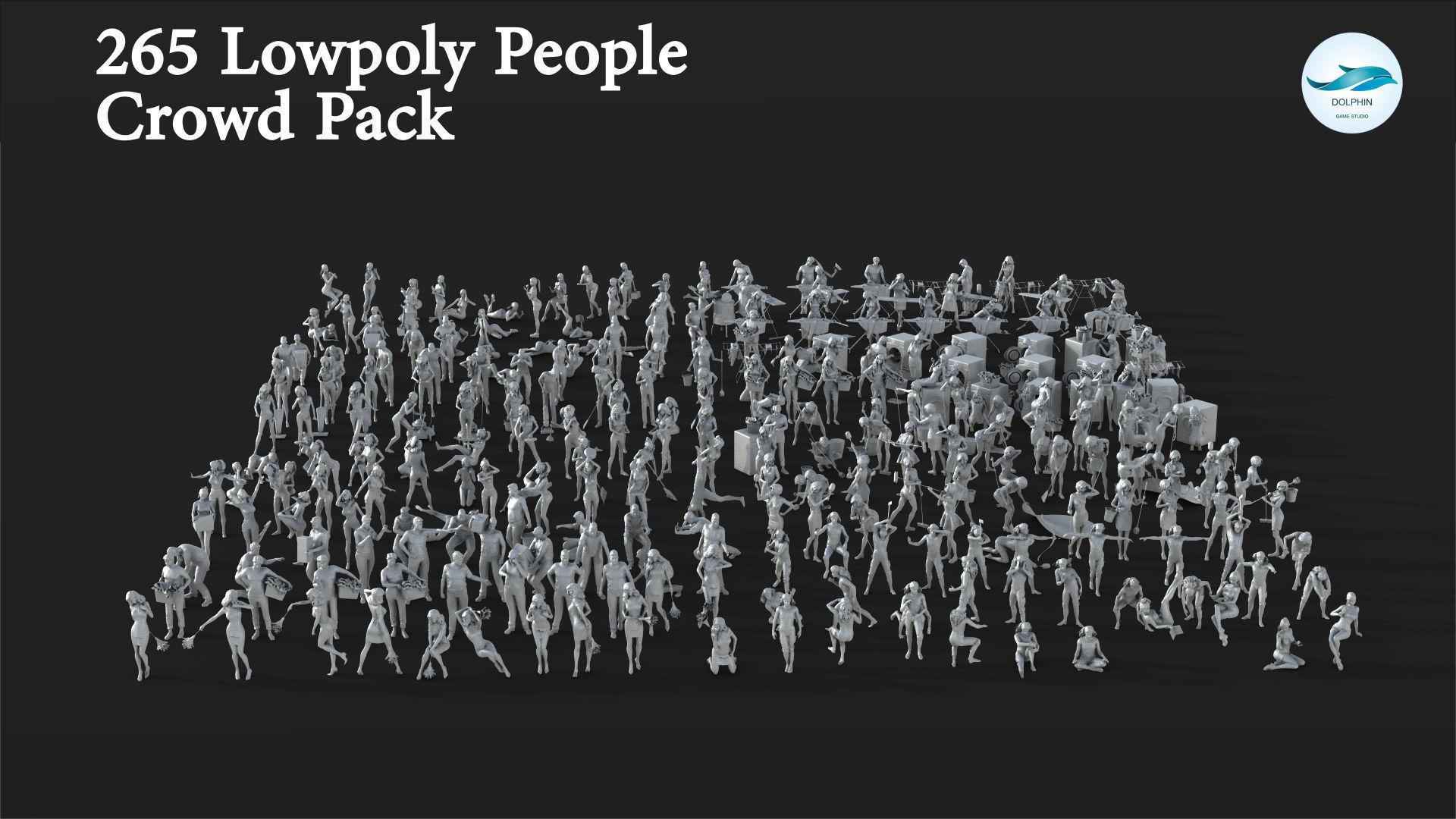 265 People Crowd Pack Set-07