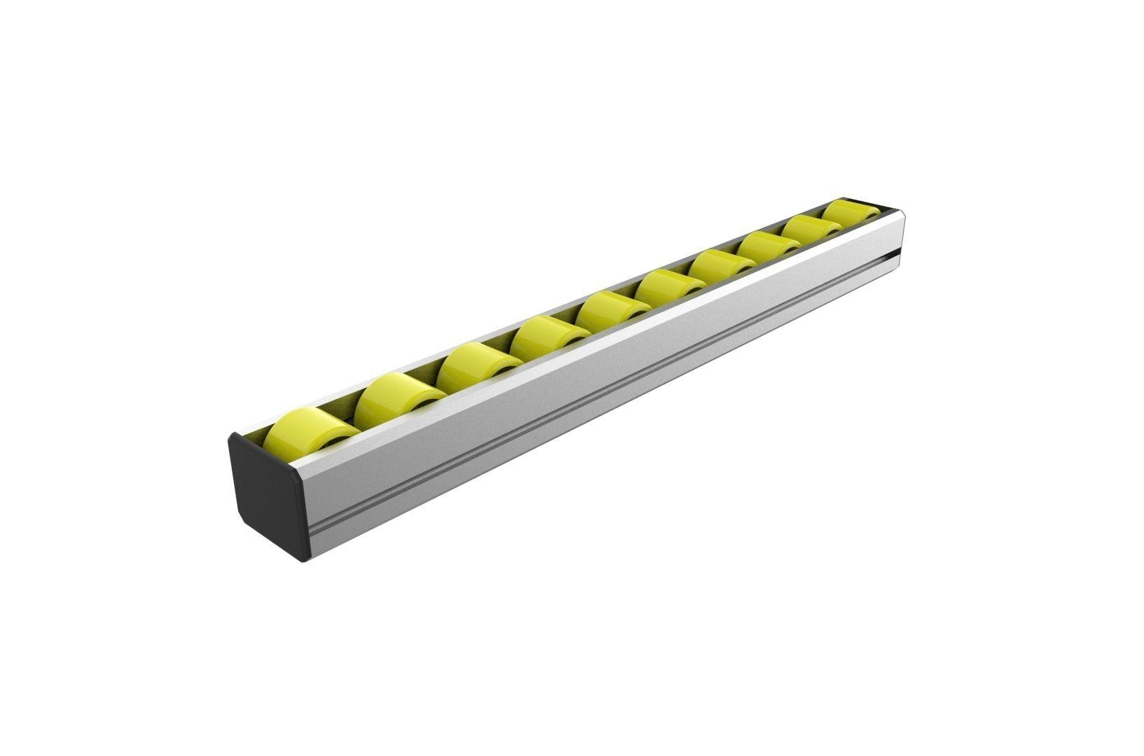 Industrial roller slide