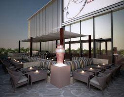 3D AlPasha project Restaurant