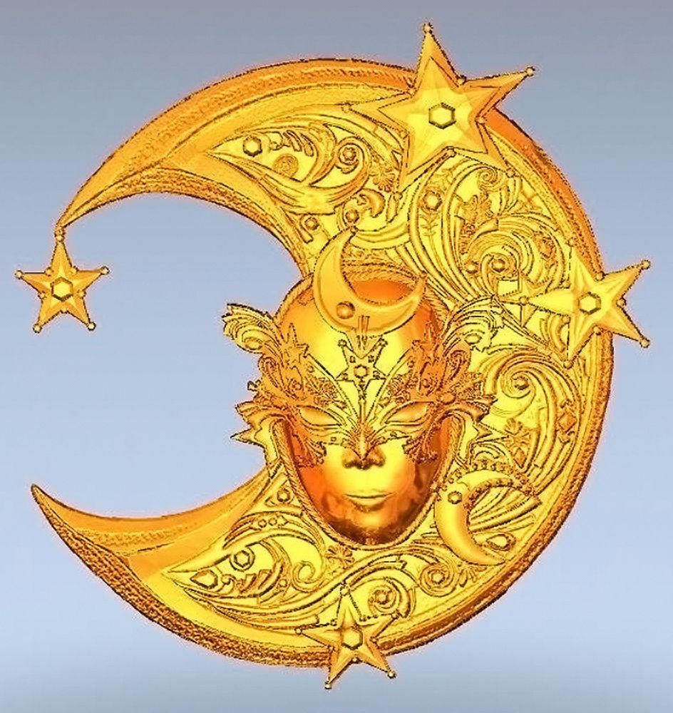 Mask-moon