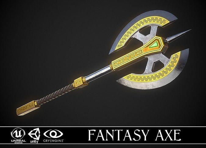 Fantasy Axe 04D
