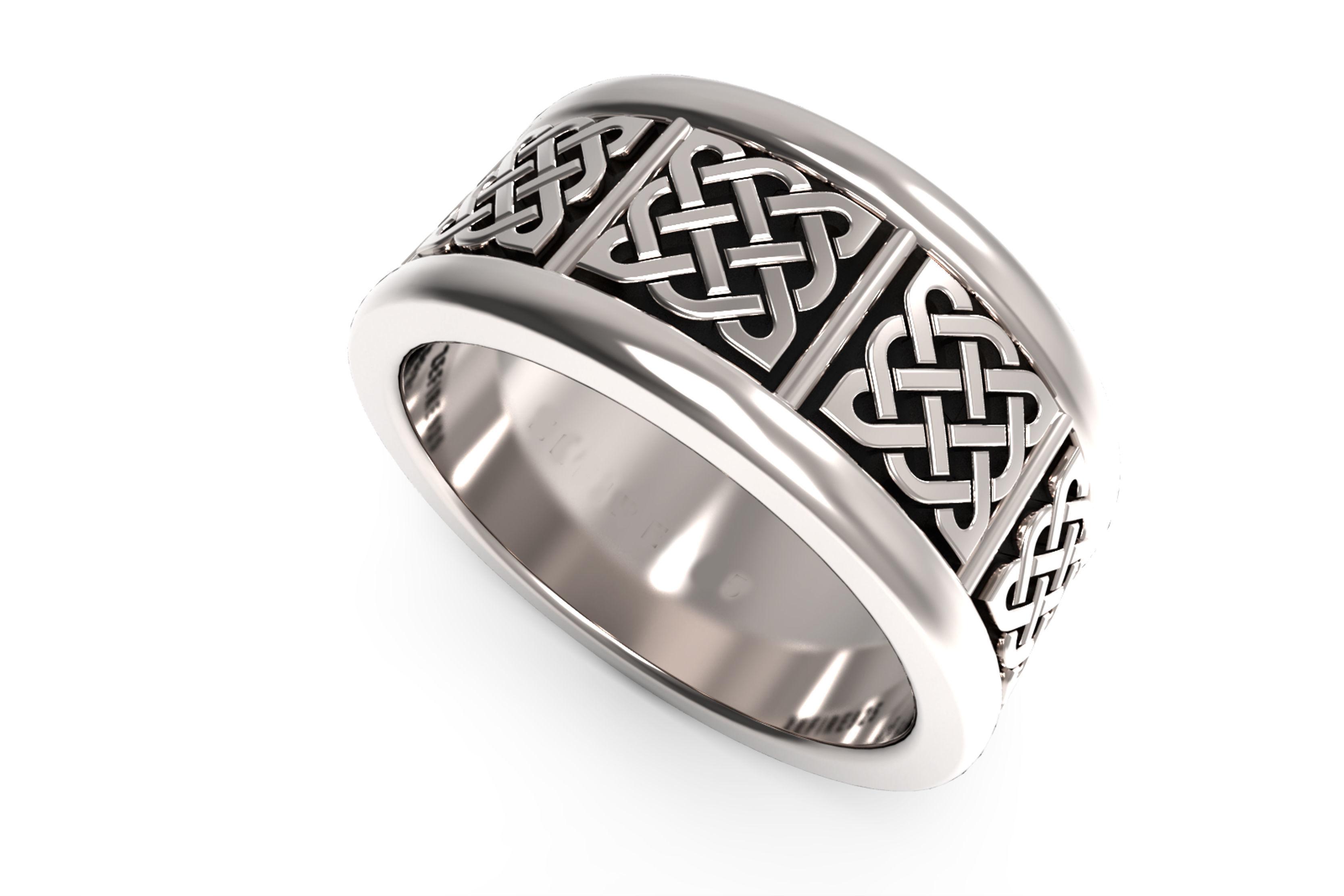 Celtic engagement ring stl file Celtic weddings Celtic