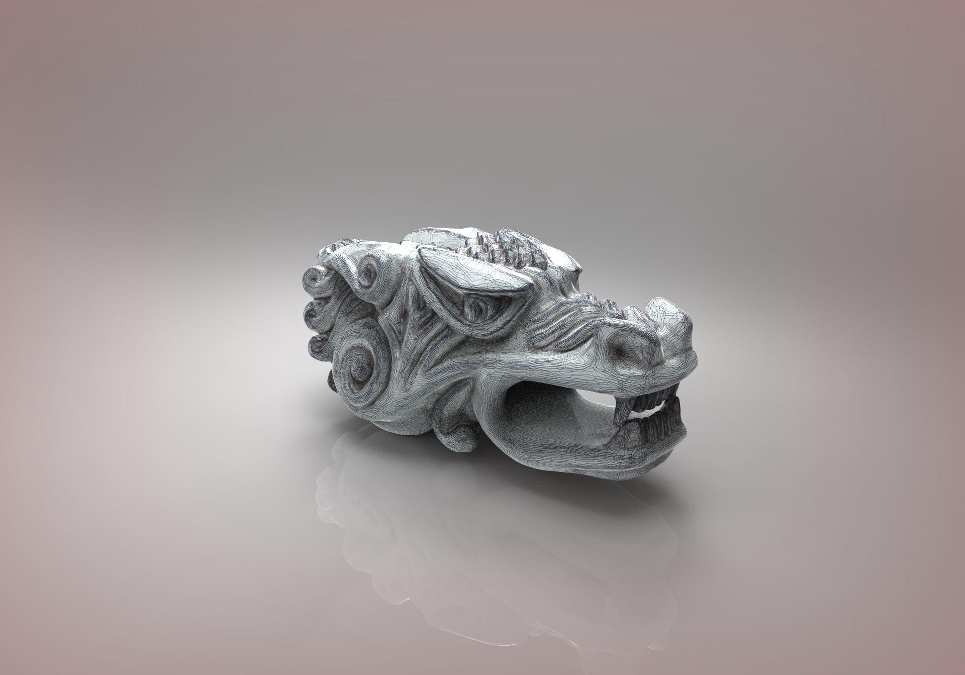 dragon 3d print model jeweller cgtrader