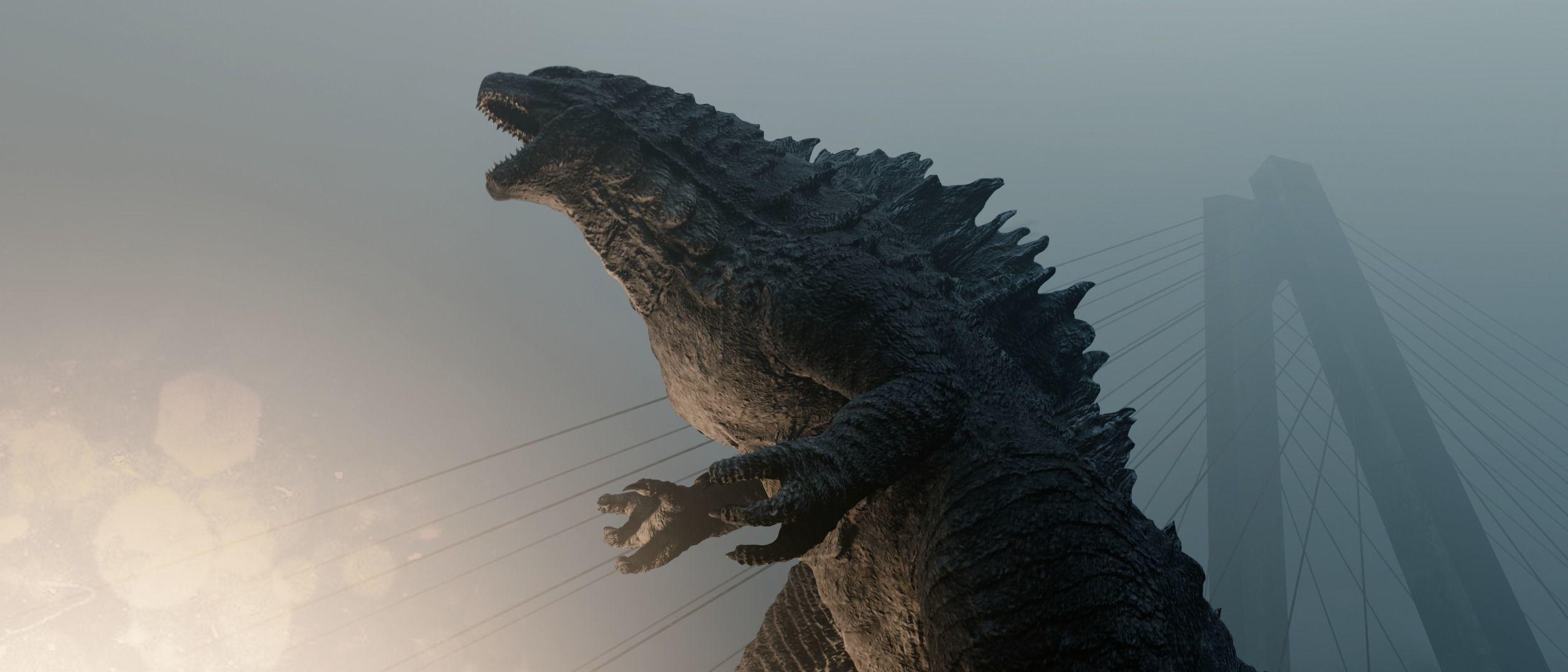 Godzilla kaiju titan
