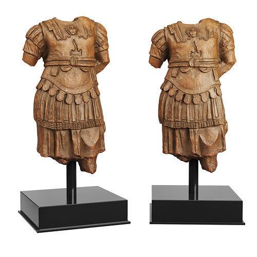 Torso Cuirass statue of a Roman Emperor