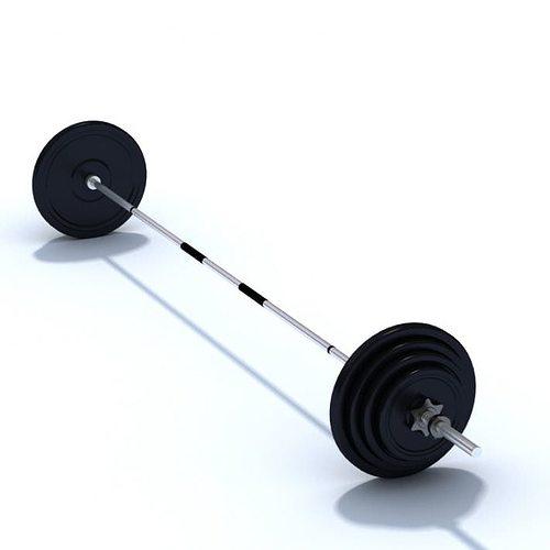 equipment dumbbell home gym 3d model  1