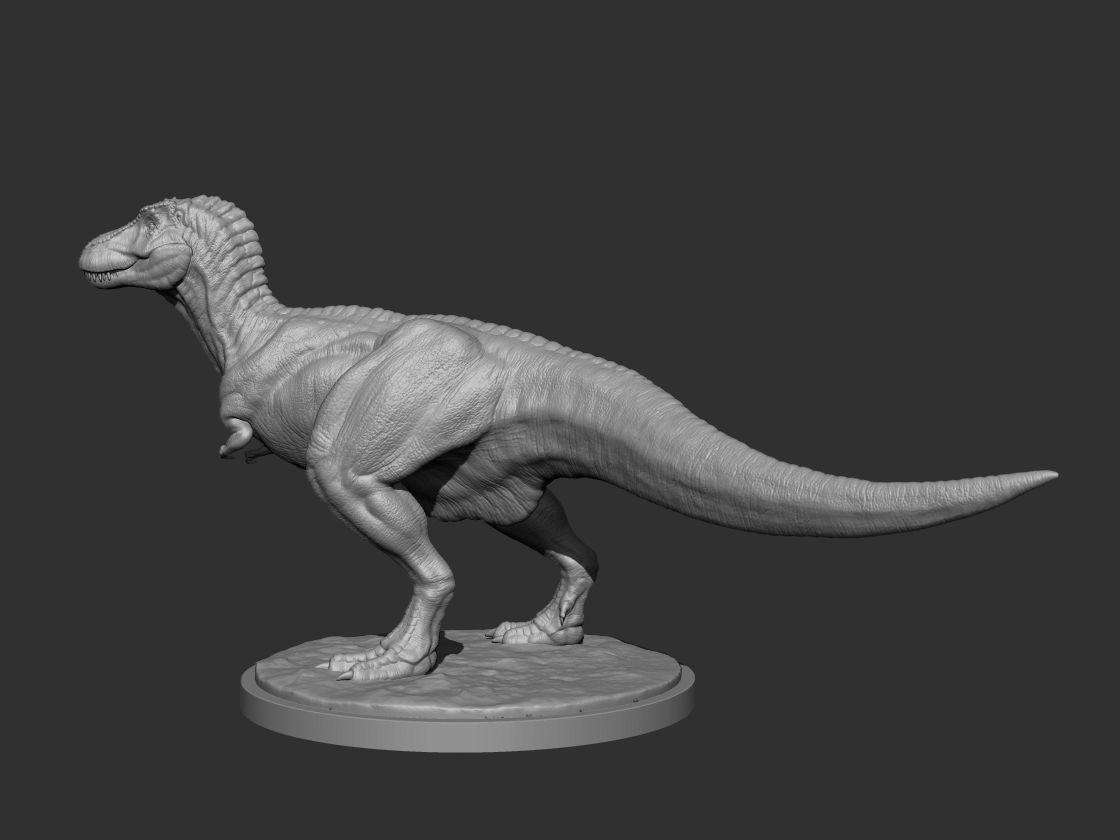 3D Tyrano for Printing Pose 02