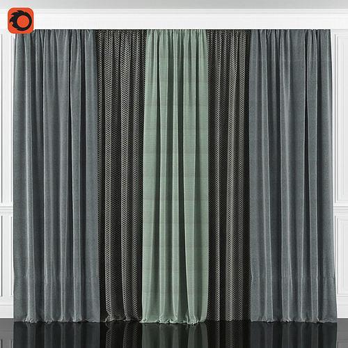 Curtain Set 57C