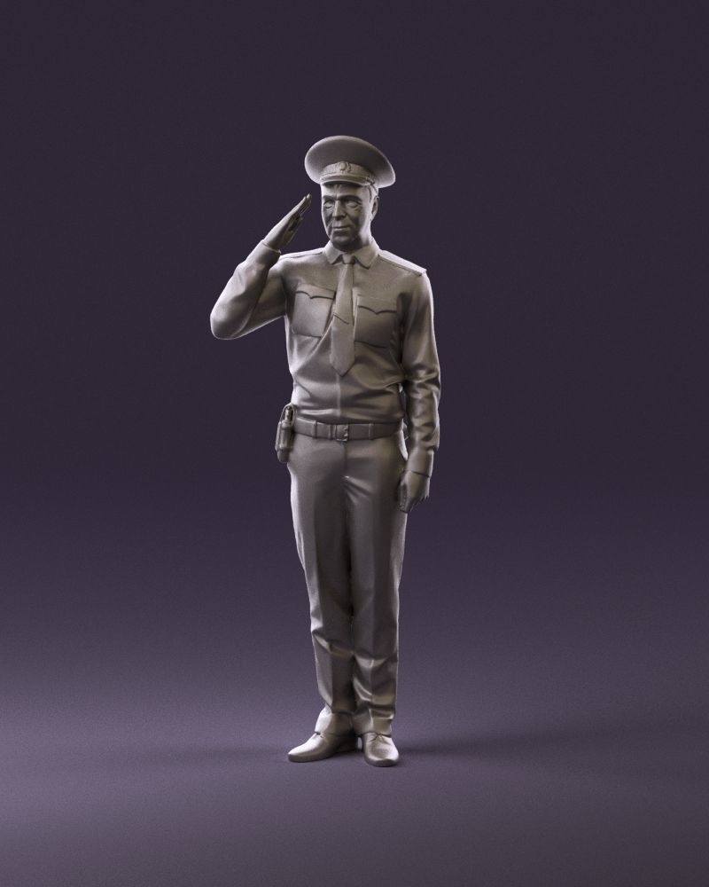 soviet militsioner 1109 3D Print Ready