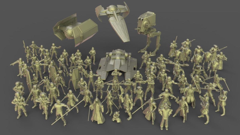 Star Wars Legion miniatures MEGAPACK