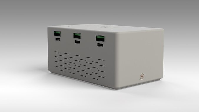 QC4 QC3 DIY charger model ready to print 180W max output