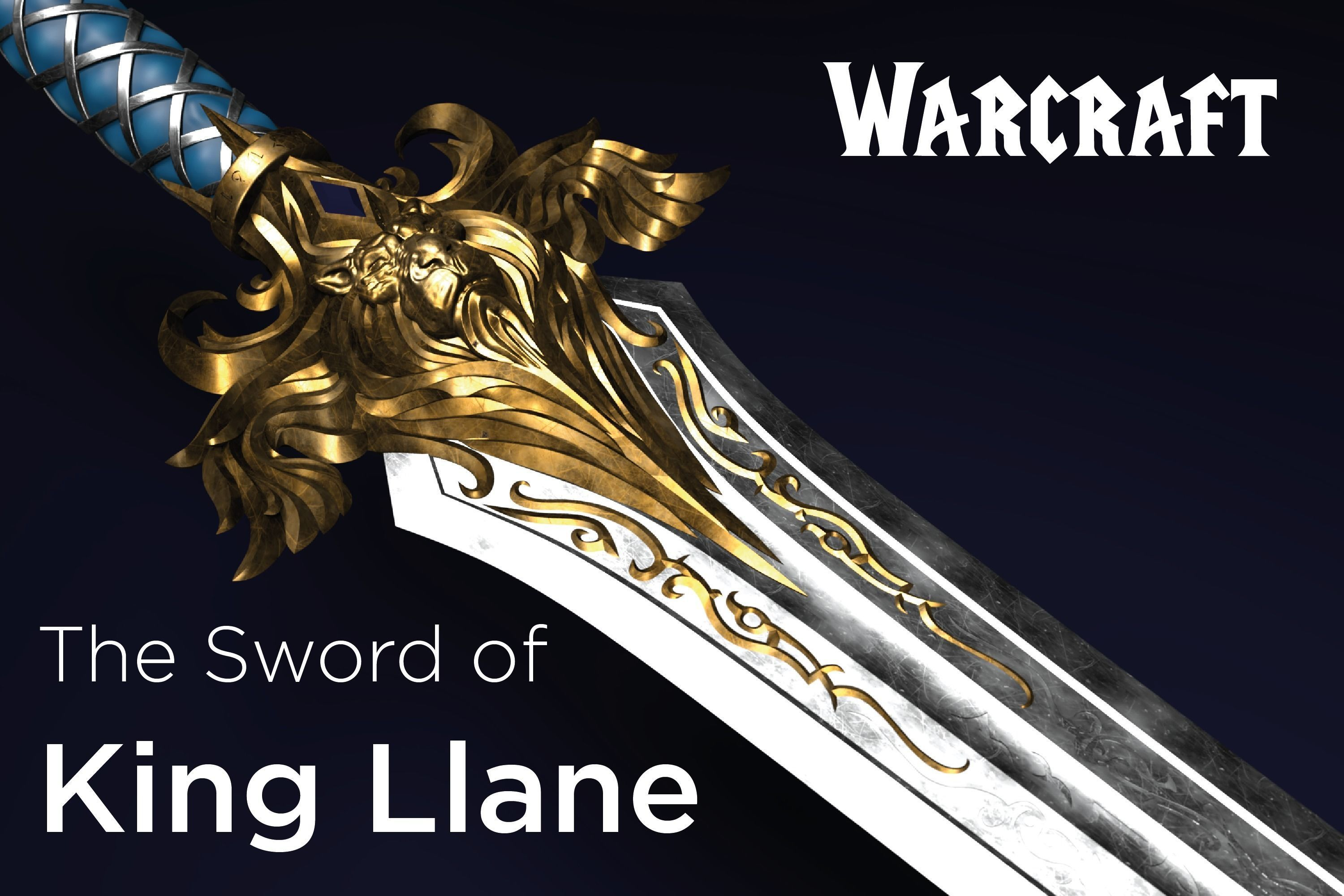 The Sword of King Llane from Warcraft movie