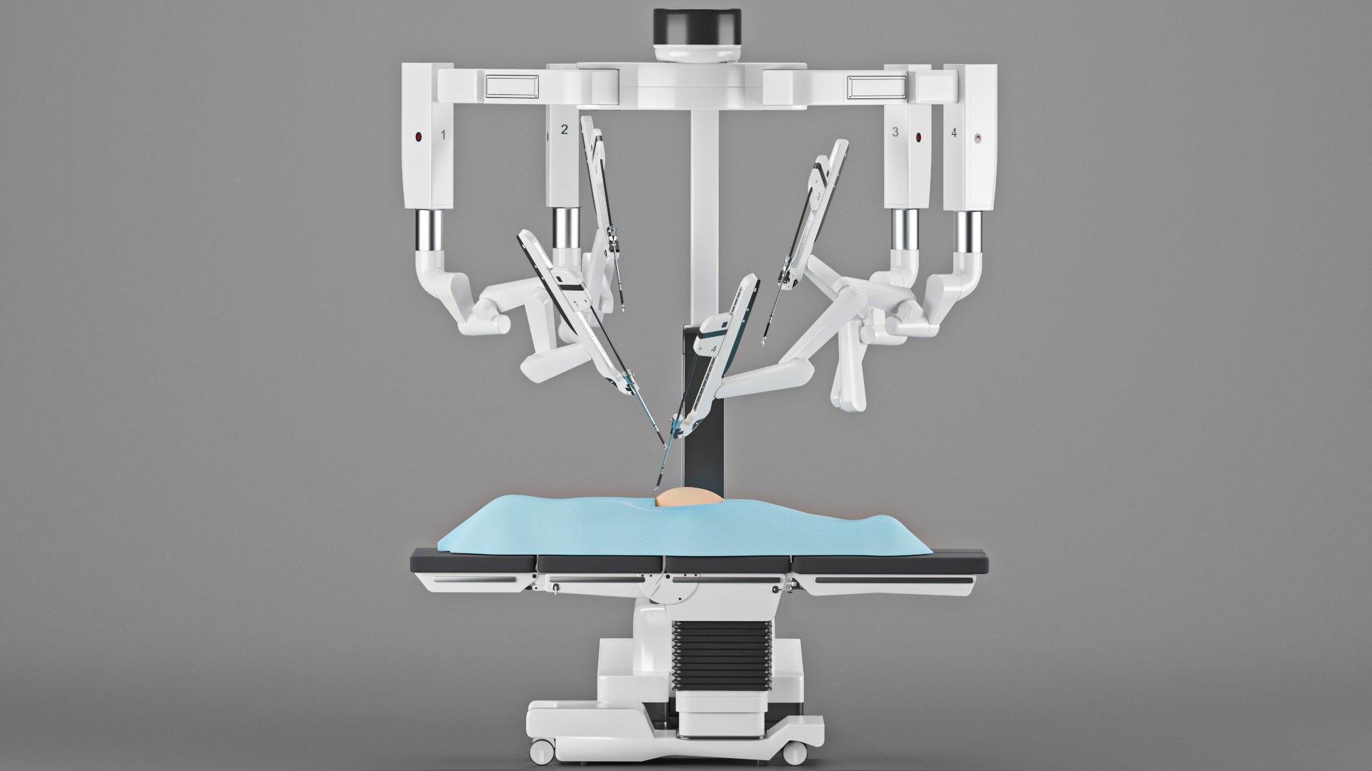 Surgical Robotic System da Vinci 3D model