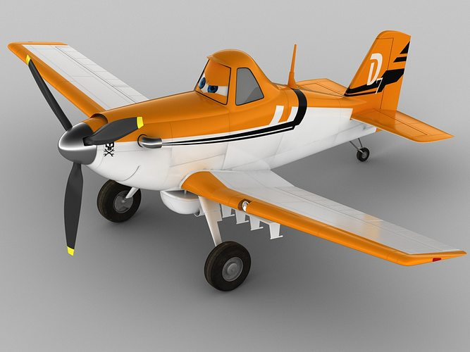 dusty crophopper 3d model max obj mtl 3ds fbx c4d lwo lw lws 1