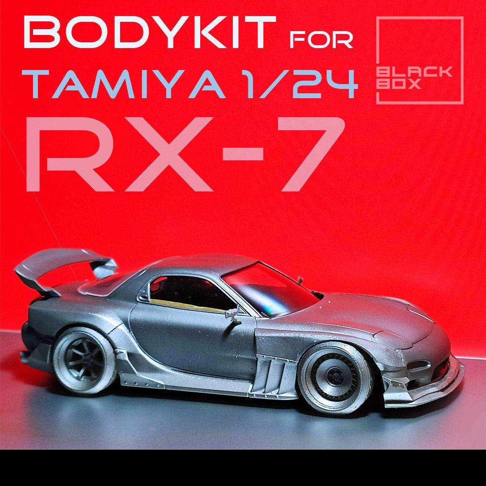 RX7 BB01 BODYKIT For tamiya 1-24