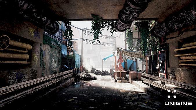 Cyberpunk Apocalypse City