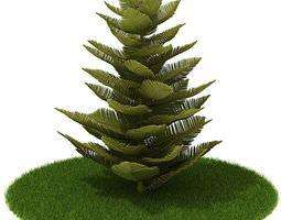 3D model Plant Tree Leaves